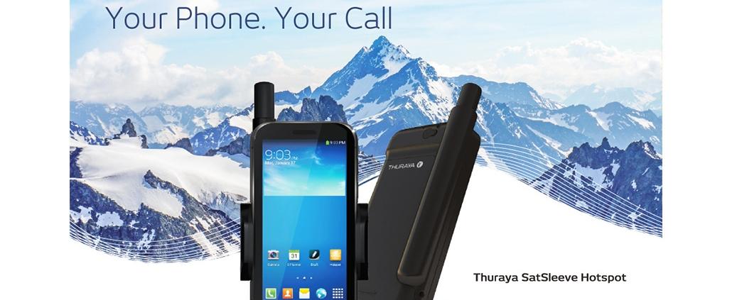 Thuraya SatSleeve+ Satphone