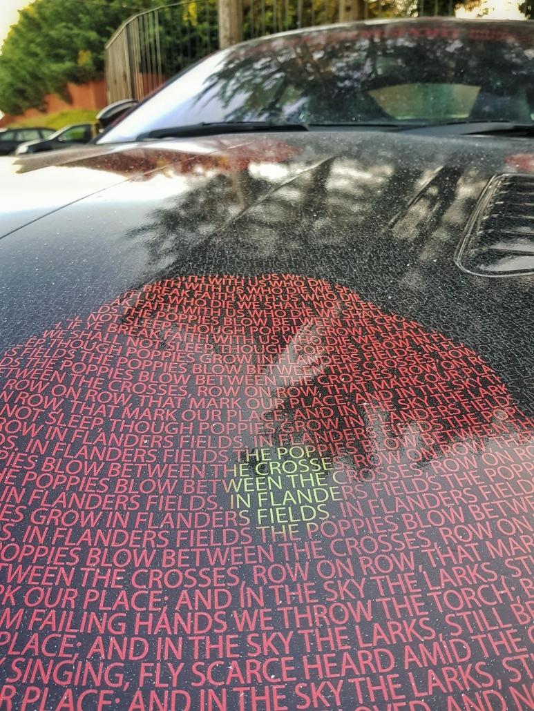 Remembrance Mission Motorsport Jaguar F-Type SVR