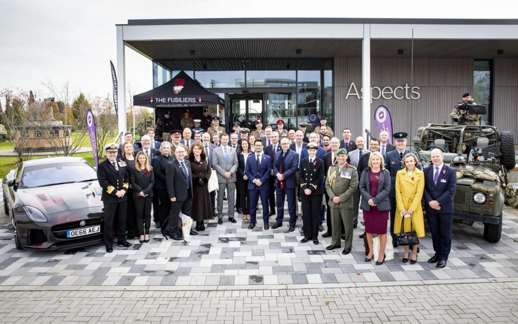 Armed Forces Covenant Silver Awards 2019 Ceremony