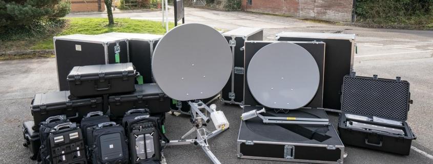 Scytale and Holkirk QD98 Satcom Terminals