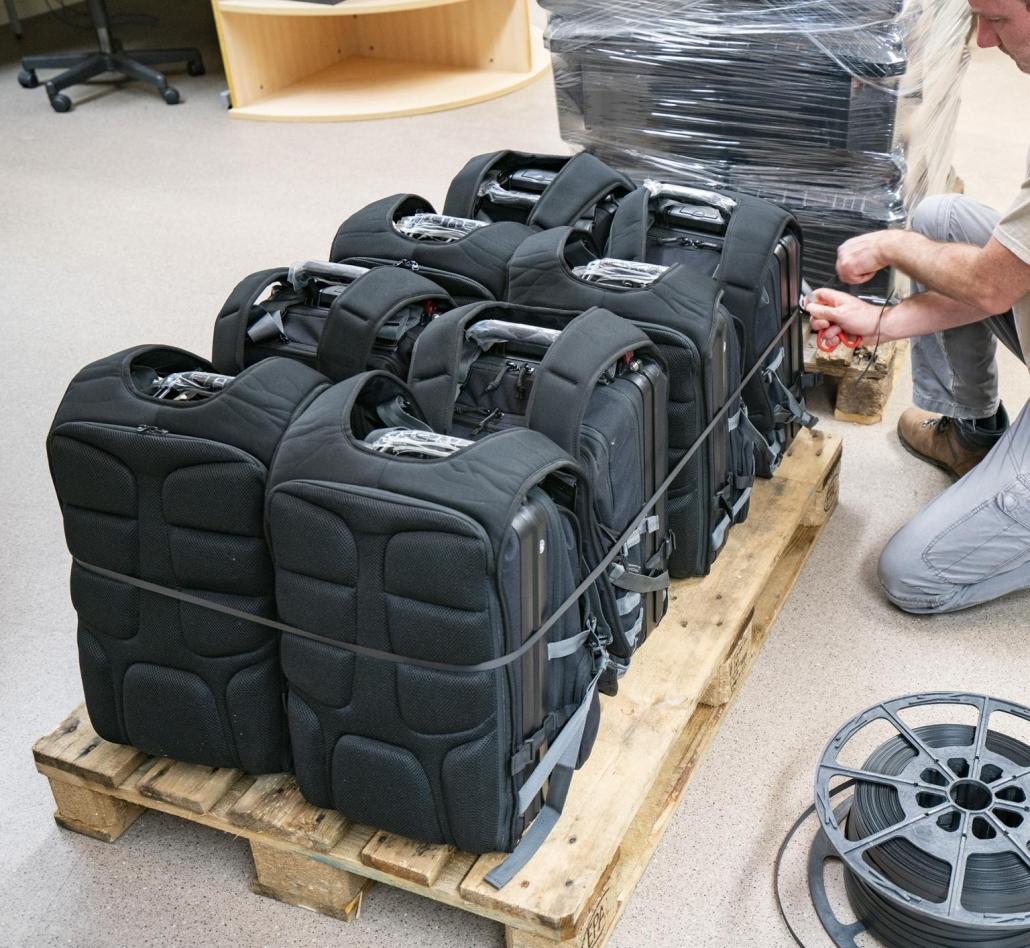 8 GRC Scytale Lite packs ready to ship