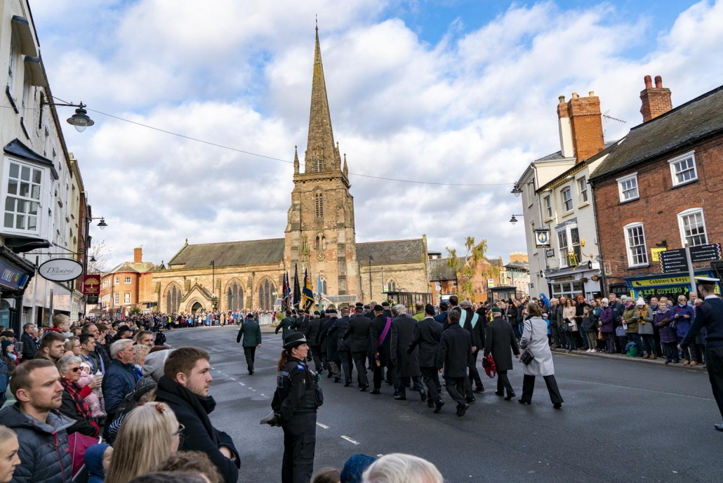 Remembrance Sunday Service in Hereford 2019