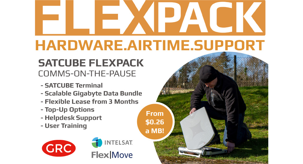 FlexPack Satcube for Comms-on-The-Pause