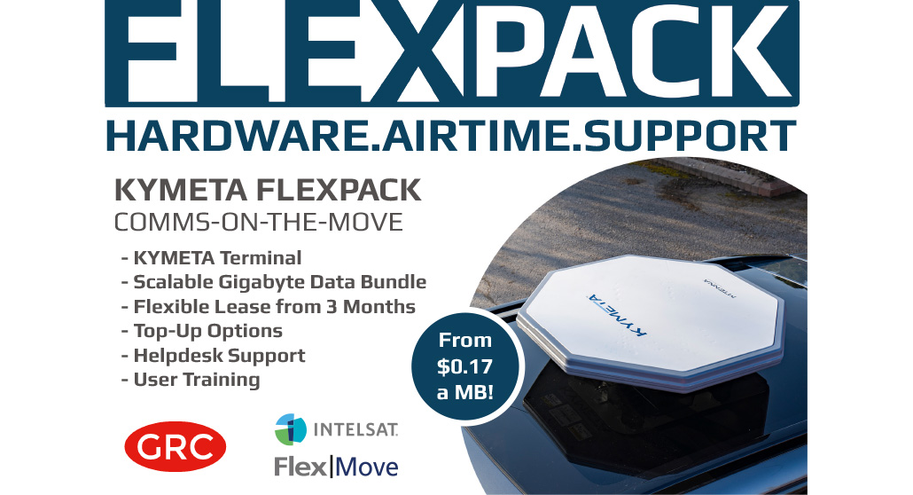 FlexPack Kymeta for Comms-on-The-Move