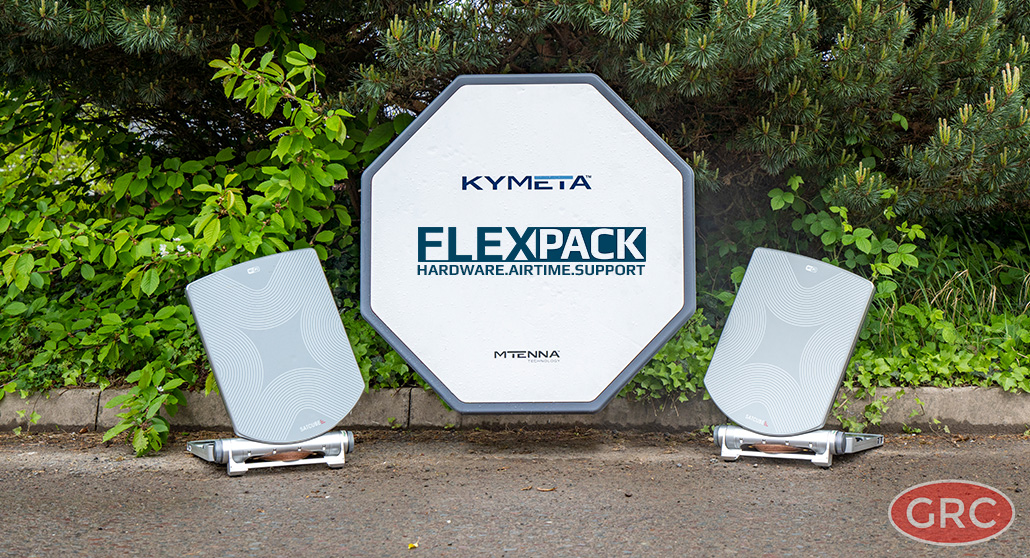 FlexPack from GRC - all-in-one satcom solution