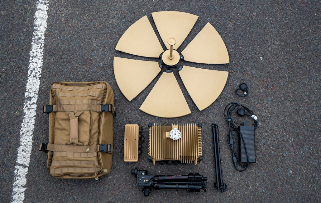 Tampa Microwave Manpack 65 Component Parts Breakdown