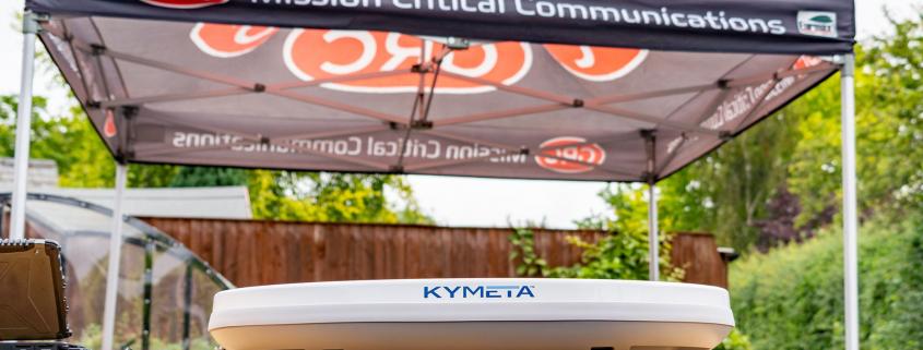 Kymeta U8 on a table