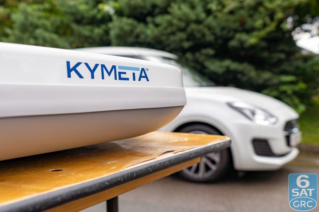 Close up on the Kymeta U8